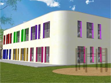 Budowa przedszkola  Luboń Lasek