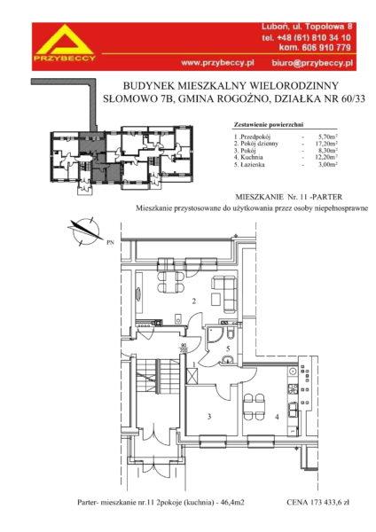 Mieszkanie z udogodnieniem dla niepełnosprawnych